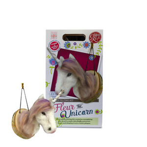 Needle Felting Kit-Fleur the Unicorn| The Scottish Company | Toronto