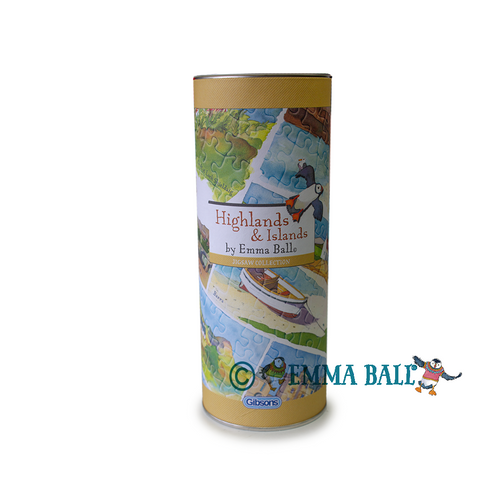 Emma Ball Watercolour Artist Single Coaster | The Scottish Company | Toronto