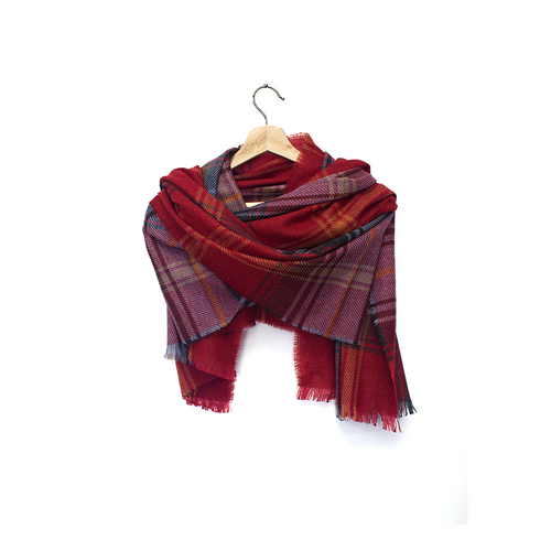 Lochcarron Brock Luxury Tartan Wrap | The Scottish Company | Toronto