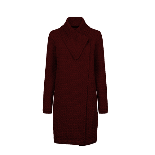 IrelandsEye | Belcarra Knit Wool Coat