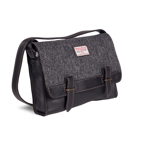 Harris Tweed Messenger Bag -The Scottish Company