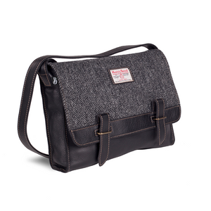 Harris Tweed Messenger Bag | The Scottish Company