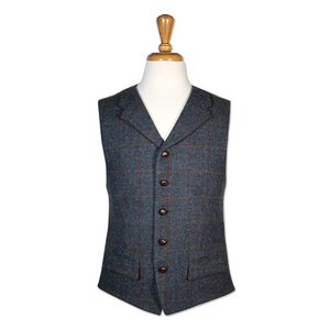 Bucktrout Angus Harris Tweed Vest | The Scottish Company
