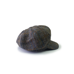Hanna Hats | Glenveagh Harris Tweed Cap | The Scottish Company | Toronto