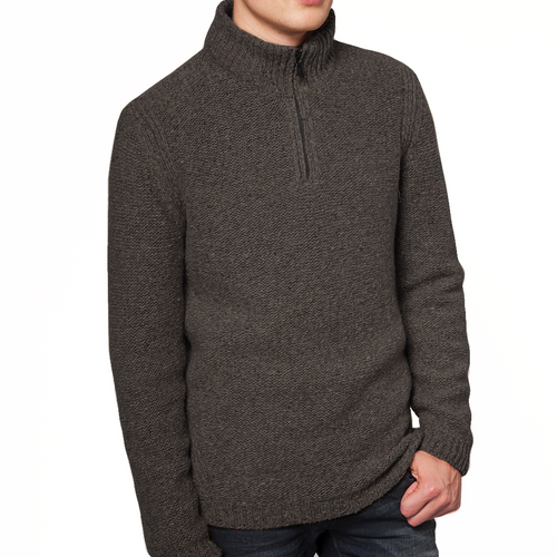 Fisherman out of Ireland | Zip-Neck Sweater