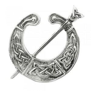 Art Pewter Plaid Brooch | The Scottish Company