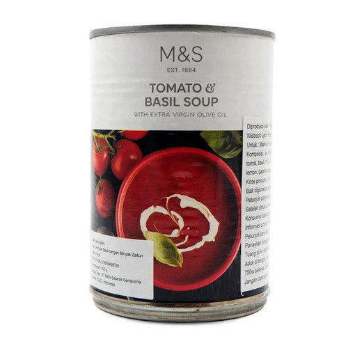 M&S Tomato Basil Soup | The Scottish Company