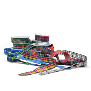 Tartan Ribbon 16mm | The Scottish Company