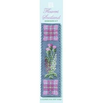 Flowers of Scotland Cross Stitch Kit | The Scottish Company