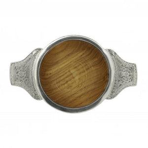 "3"" Wooden Quaich 
