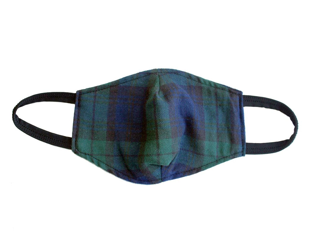 Tartan Cotton Face Masks | Black Watch