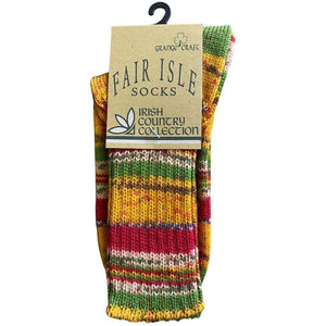 Grange Craft | Fair Isle Socks