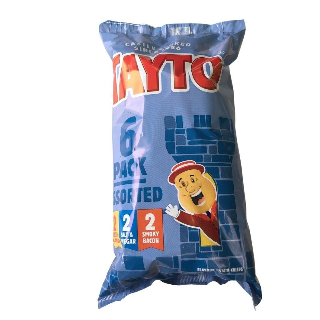 Tayto Assorted Crisps - 6 pack | The Scottish Company