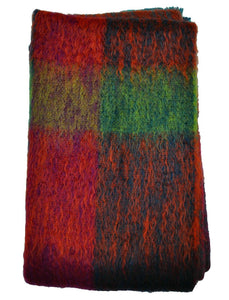 Green Grove Weavers | Mohair Throw - Maple