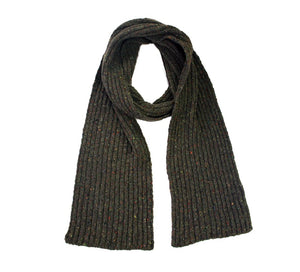 Ireland's Eye Luxe Ribbed Scarf | The Scottish Company