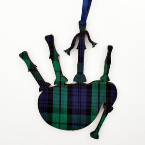 Black Watch Bagpipes ornament | The Scottish Company