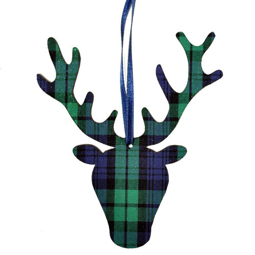 Black Watch Stag head ornament | The Scottish Company