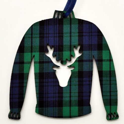 Black Watch Sweater Ornament | The Scottish Company