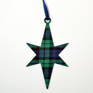 Black Watch Star Ornament | The Scottish Company