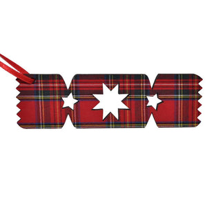 Royal Stewart Christmas cracker ornament | The Scottish Company