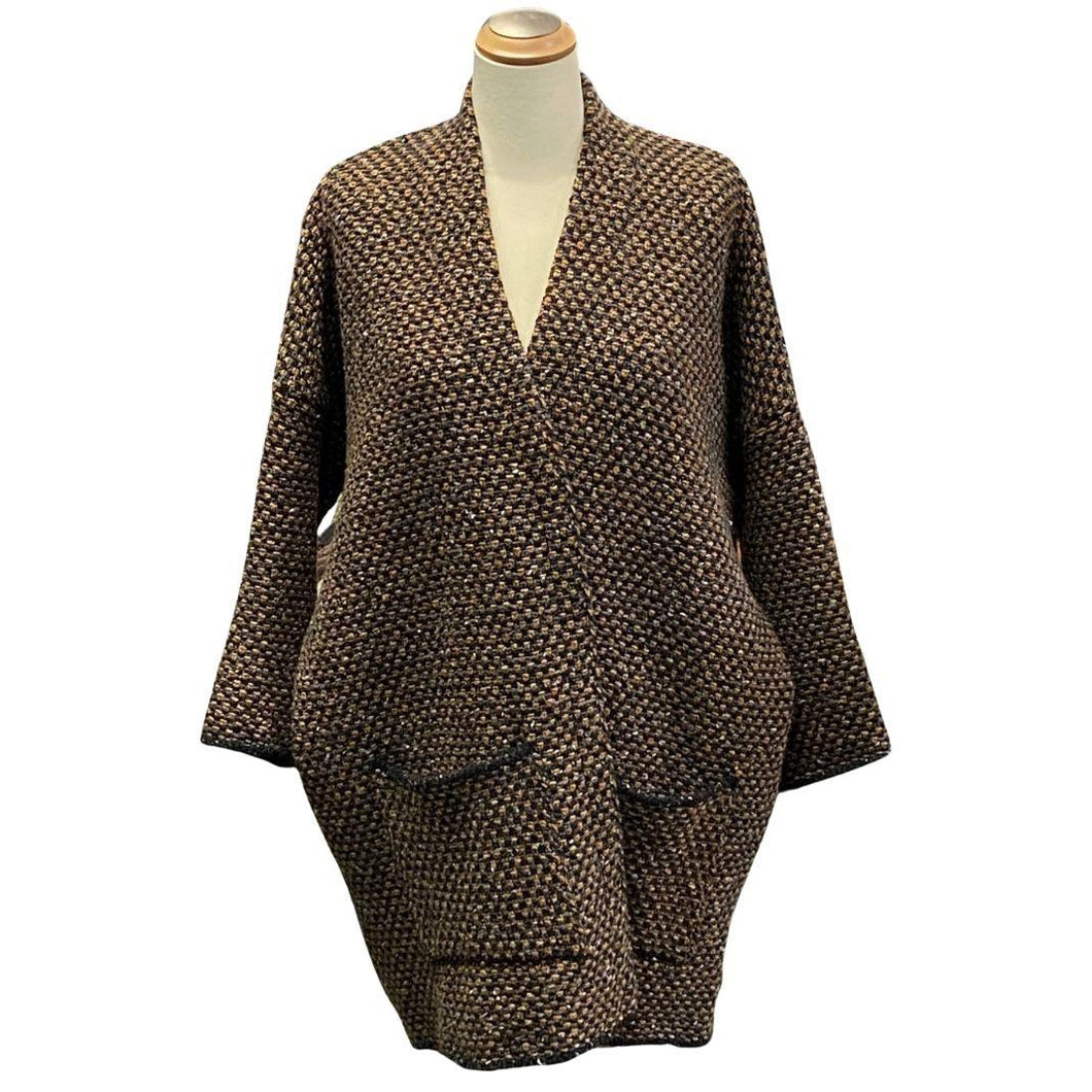 McConell - Cocoon Tweed Car Coat | The Scottish Company, Toronto, Canada