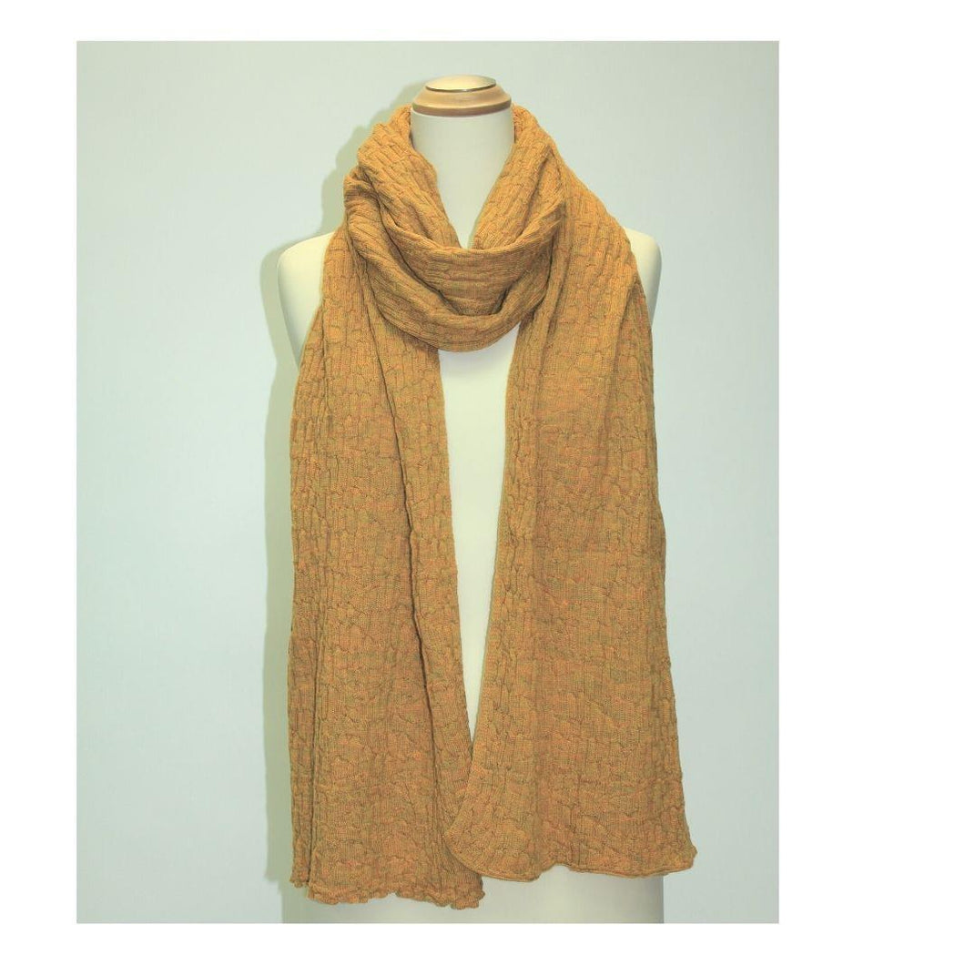 McKernan Allchemy Saffron scarf | The Scottish Company