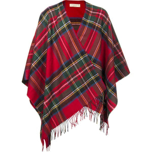 Royal ?Stewart Tartan lambswool Wrap | The Scottish Company