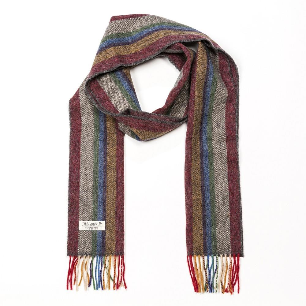 John Hanly extra long Lambswool scarf | The Scottish Company