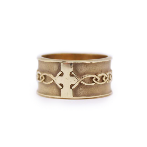 Ring | Gold Celtic Weave Wedding Band