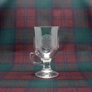 Burns Crystal | Celtic Coffee Glass