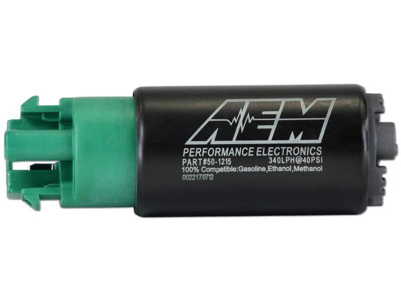 AEM 340LPH High Flow In-Tank Fuel Pump (65mm With Hooks)