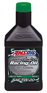 DOMINATOR® Synthetic 5W-20 Racing Oil