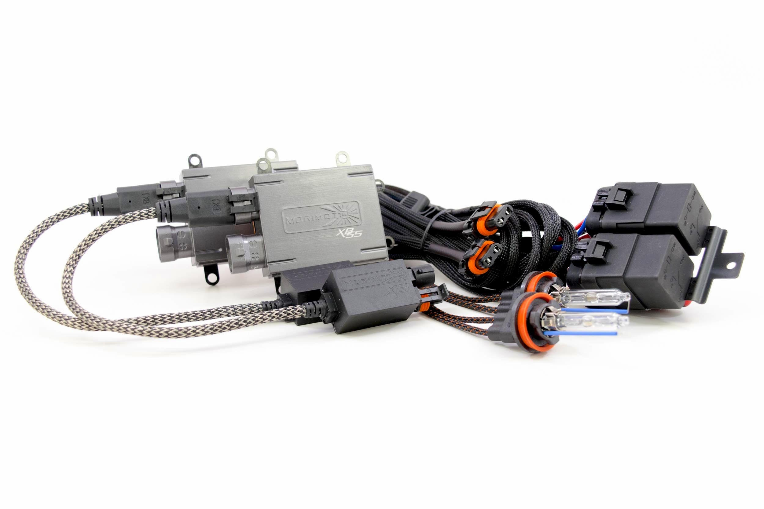 H7 Morimoto Elite HID Kit System With XB35 35W Ballasts and XB35 H7 5000K Bulbs with Canbus Harness
