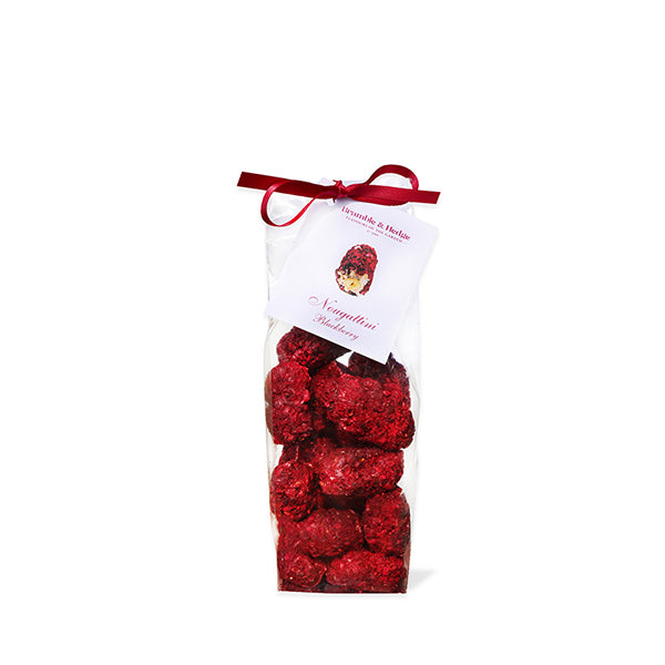 Blackberry, Violet & White Couverture Chocolate Nougattini - 200g