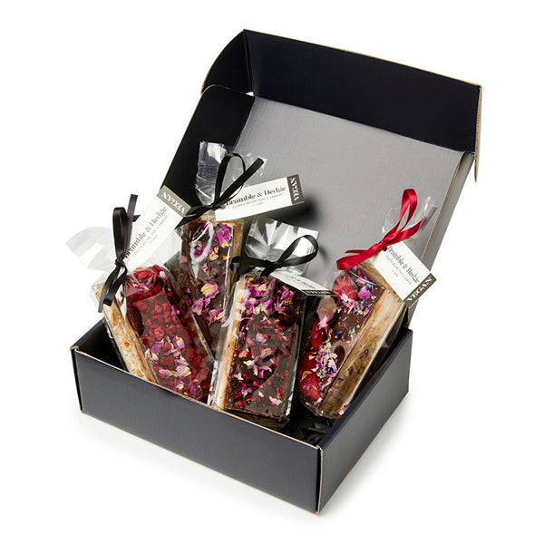 4 Piece Assorted Nougat Gift Box