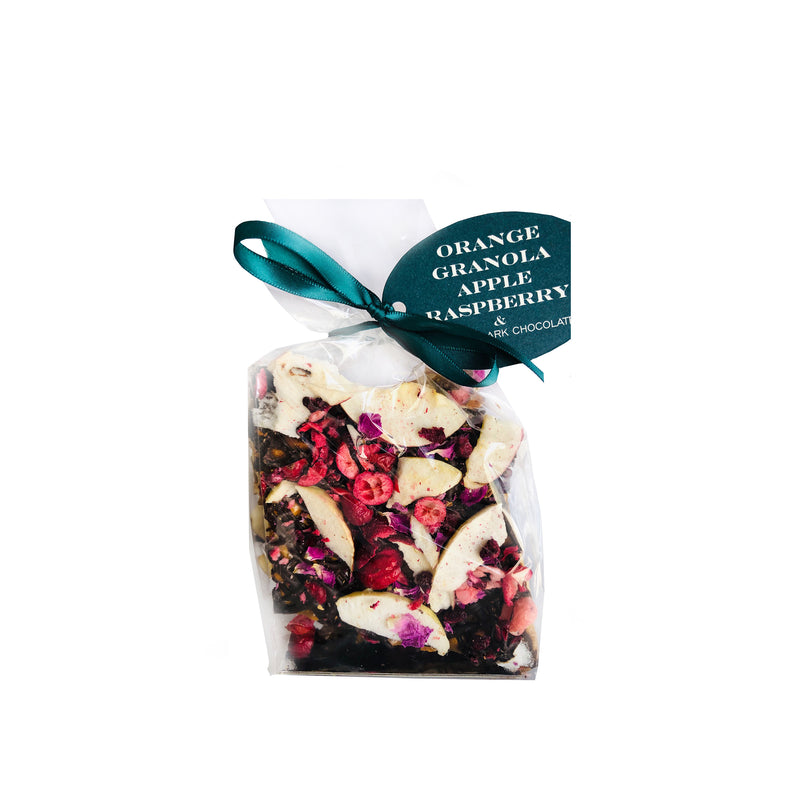 Apple & Cranberry Coconut Granola Peanut Brittle