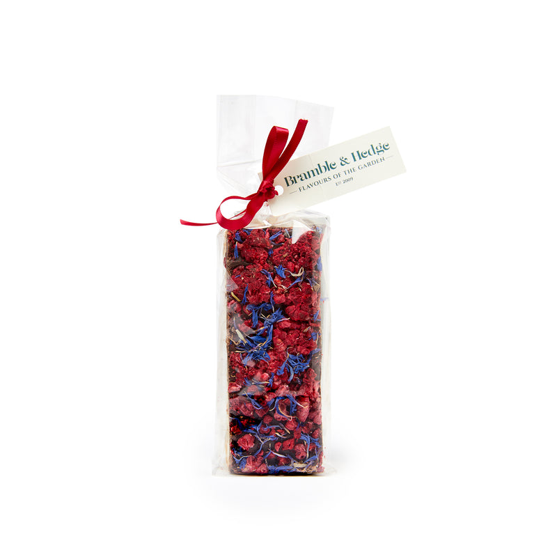 Lemon Raspberry Dark Chocolate Nougat - 150g