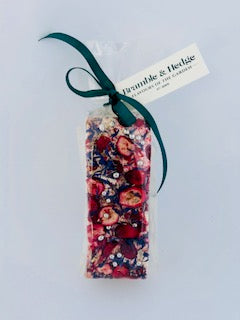 Pomegranate, Cranberry & Orange Nougat Bars
