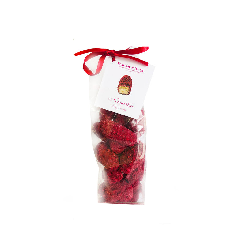 Raspberry & White Chocolate Nougattini - 200g