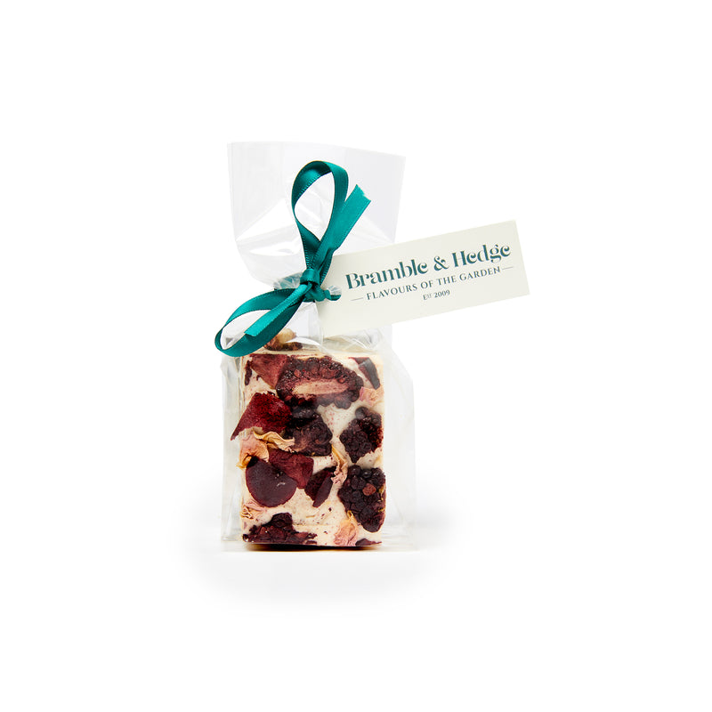 Spiced Plum Blackberry Nougat 75g