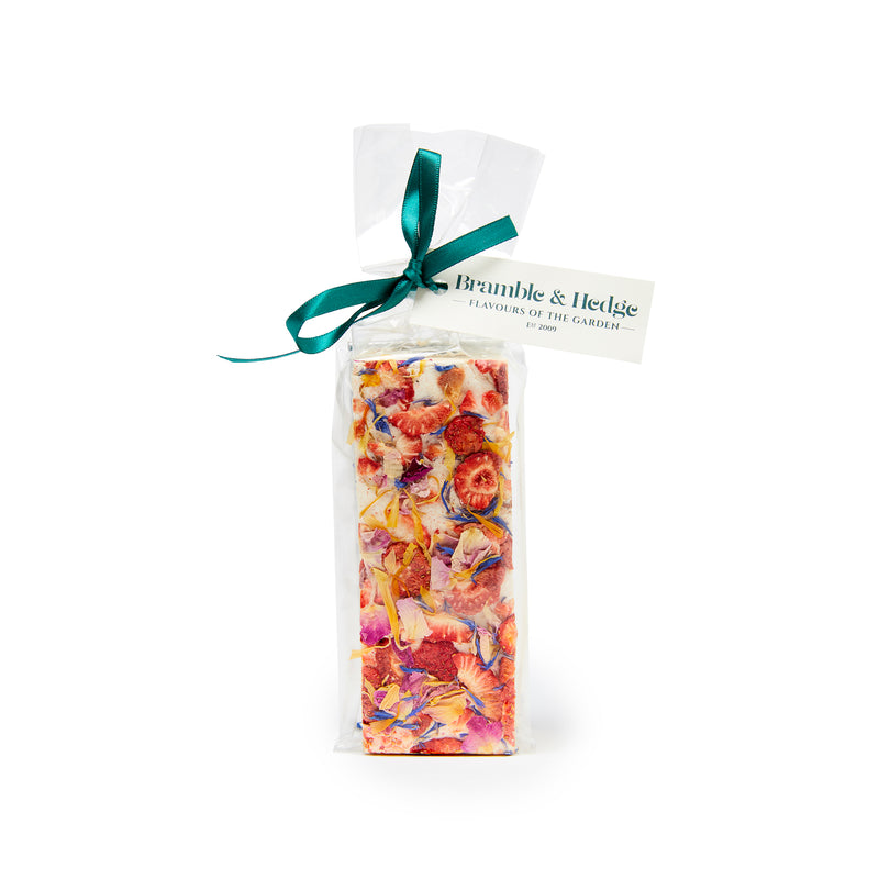 Strawberry & Elderflower Nougat - 150g