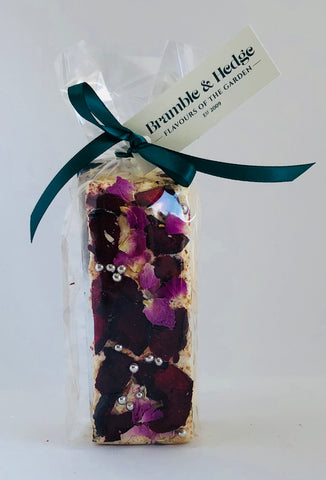 Christmas Plum Pudding Nougat Bars