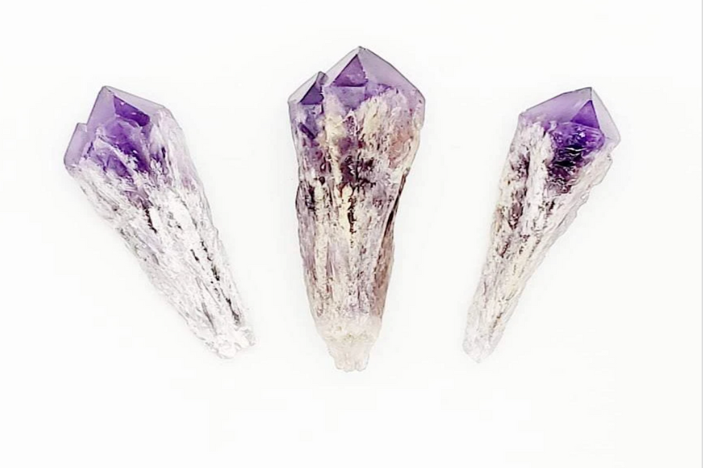 amethyst point/wand
