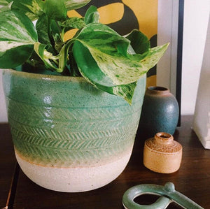 SEA GREEN PLANTER