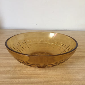 70s GLASS BOWL