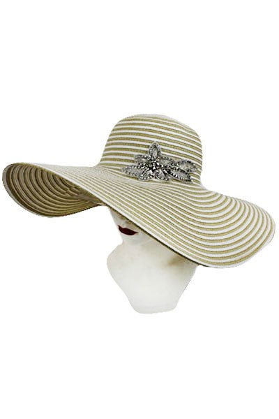 Wide Brim Pamela Hat