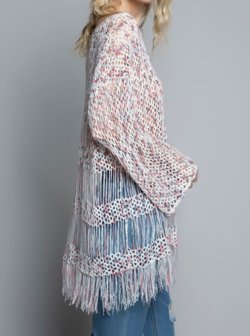 Strawberry Fringe Tunic