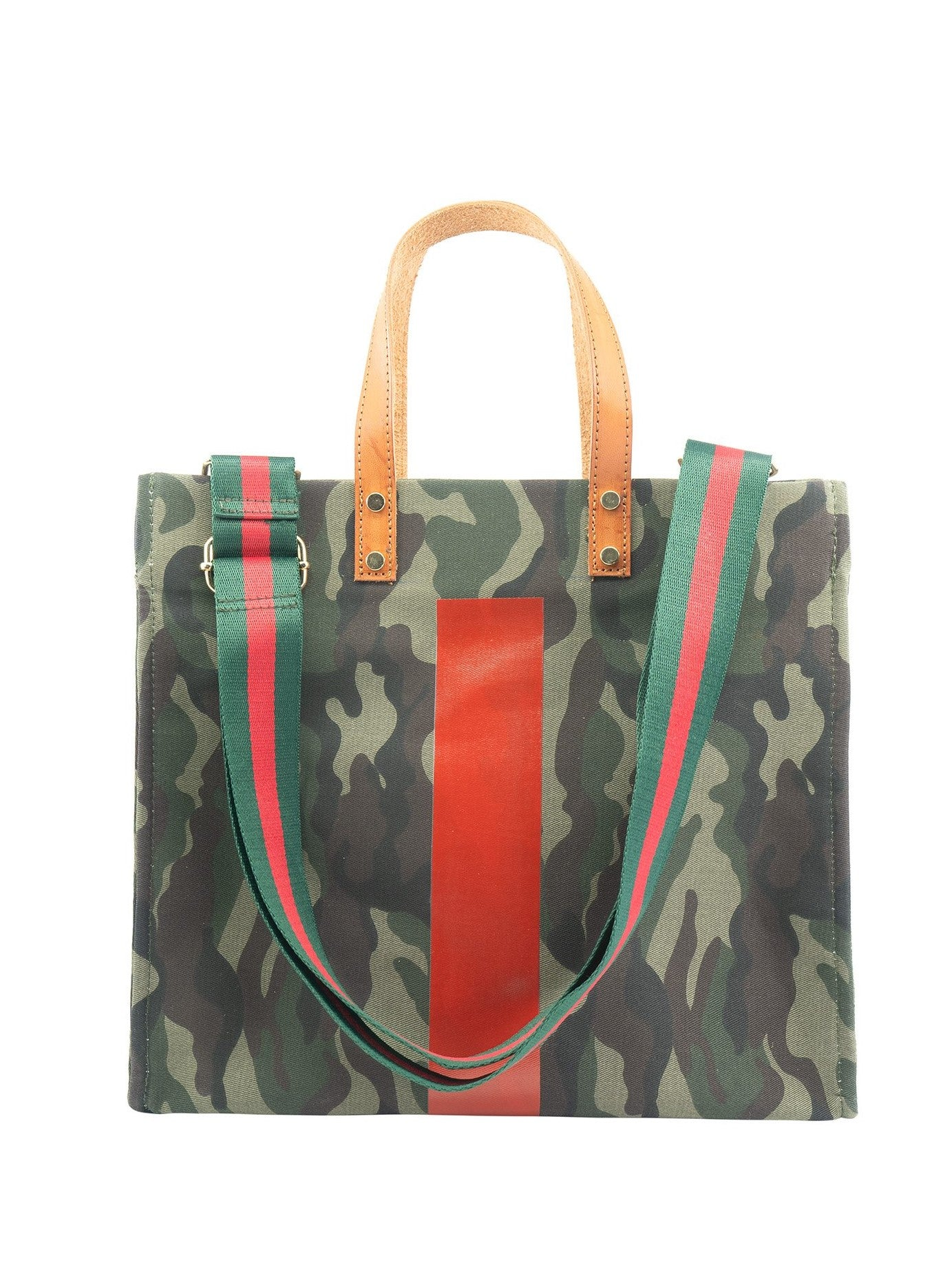 Canvas Camo Bag