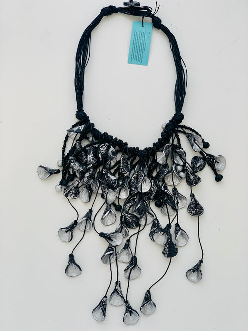 Unique Recycled Paper Necklace