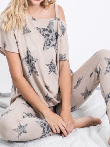 Camo Star Loungewear Set